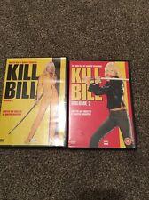 Kill Bill Vol. 1 And Vol. 2 DVD Bundle (Quentin Tarintino / Uma Thurman)