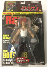Jeff Hardy WWE RAW Uncovered Action Figure WWF TNA Impact ROH