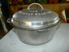 Wagner Ware No. 9 Drip Drop Roaster Aluminum 249 Sydney with handle