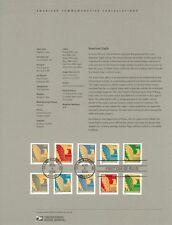 #0516 25c American Eagle Coil #3792a-01a Souvenir Page