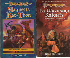Complete Set Lot of 7 Dragonlance the Warriors (Fantasy) Roland Green