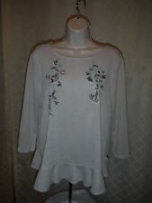 LC Lauren Conrad Sweater Blouses M,S,Embroidered XL- other kind NWT