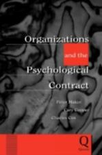 Organizations and the Psychological Contract : Managing People at Work by...
