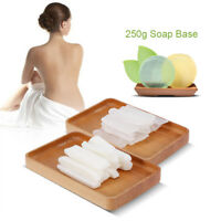 250g Transparent Milky White Soap Base Raw Material Base for DIY Soap Making GL