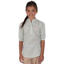 Camisas y blusas de niña de 2 a 16 años verdes