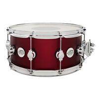 Drum Workshop Design Series Limited 6.5x14 Snare in Crimson Satin Metallic