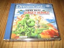 Army Men Sarge's heroes  neuf Sega DREAMCAST