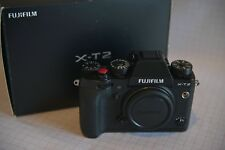 Fujifilm X-T2 24.3 MP Digital Camera - Black (Body Only)