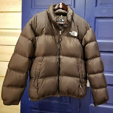 North Face Nuptse 700 Goose Down Winter Puffer Jacket Coat Men XL Brown xLm2