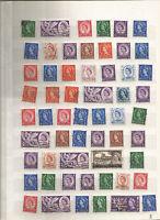 Queen Elisabeth II  Großbritannien England  Briefmarken Stamps Sellos Timbres