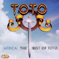 """TOTO """"AFRICA: THE BEST OF TOTO"""" 2 CD NEUWARE"""