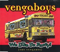 Vengaboys Maxi CD We Like To Party! (The Vengabus) - Europe (M/M)