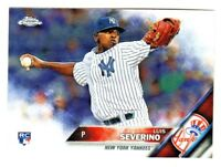 2016 Topps Holiday Snowflake #HMW51 LUIS SEVERINO RC Rookie New York Yankees