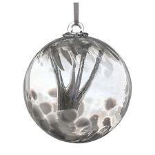 Regalo de boda, bola 10 cm espíritu de plata por Sienna Vidrio