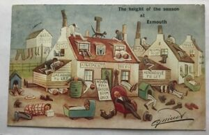 CYNICUS Signed 'Height of the season at Exmouth' 1909