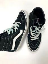 Vans Sk8 Hi Black White Shoes men's us Size 5.5 women's Size 7