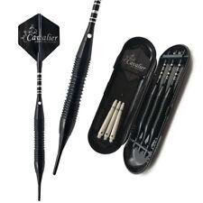 3PCS 19g Professional Darts Electronic Soft Tip Darts aluminum shaft Darts black