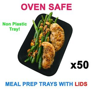 50 OVEN SAFE / Food prep preparation containers / gym / healthy / nutrition