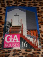 REVUE GA HOUSES - n° 16 - Global Architecture