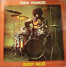 BUDDY MILES-THEM CHANGES LP VNILO 1970 DOUBLE COVER SPAIN EXCELLENT COVER