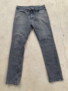 KR3W jeans 34w Grey/black. Drawstring Jeans. Dope, Unique. Awesome Designed