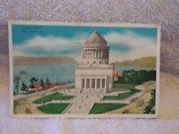 Vintage Postcard Grant's Tomb, New York City