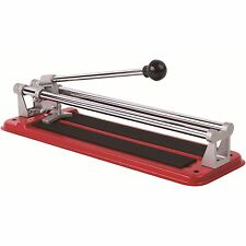 DTA HANDYMAN MANUAL TILE CUTTER 300mm Push Action Lightweight Steel Base