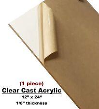 CLEAR CAST ACRYLIC Sheet 12