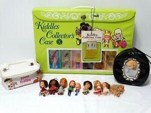 1968 Mattel Kiddles Case w/Tag & Mini Dolls