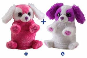 Wild Republic Switch A Rooz Plush - Puppy Dogs Hugs & Kisses