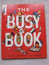 Old Children's Elf Book The Busy Book 1952 VGC