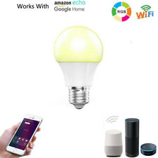 1 pc US E26 WiFi Smart LED Light Bulb&APP & Amazon AlexaEcho Google Home RGB