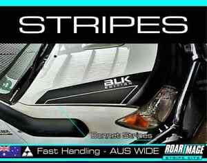 2006-2010 shape TOYOTA Hilux Bonnet STRIPES decals sticker 4wd 4x4 not door