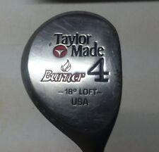"Taylor Made Burner 4 Metal Wood 18 Degree, Taylite Plus S, 41 3/4"" Swing Rite"