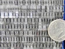 Alphabets Vintage Metal Letterpress Print Type Balto 14pt Czarin Mn72 4