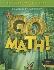 Go Math: Standards Practice Book, Grade 1 ( HOUGHTON MIFFLIN HARCOURT ) Used -