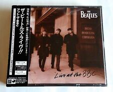 THE BEATLES Live At The BBC JAPAN PROMO 2CD w/OBI 1991 TOCP-8401/02