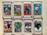 Football Rookie HOF Lot Of 22 RC Montana,Rice,Sanders,Aikman,Elway,Favre, More-