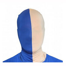 Morphsuits Blue & Gold Team MorphMask Costume Mask One Size Fits Most Adults