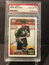 1987 Topps Hockey Card - Brian Bellows PSA10 - 1:1