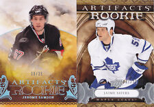 09-10 Artifacts Jaime Sifers /75 Rookie SILVER Maple Leafs 2009