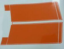 Hq GTS Stripes Kit in Orange Vinyl suit holden HQ Ute / Van