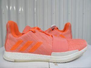 RARE Adidas Harden Vol. 3 Peach Sun Glow Orange 14 G54025 James MVP as 4 nets 5
