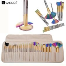 Vander 24pcs Makeup Brushes Set Cosmetic Kit 6 Colors Beauty Brush Collection