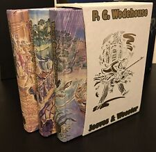 Folio Society - Jeeves and Wooster by Wodehouse- Carry On, Inimitable, Very Good