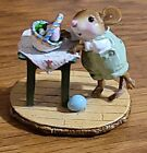 WEE FOREST FOLK M408 Tippy Basket Retired 2012 MIB, Initialed by Willie Petersen