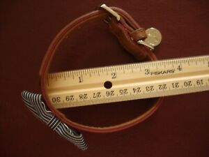 """Dog/Puppy Collar w/Deco Bow - NWOT -12"""" Long From End-to-End-Sized In Pics"""