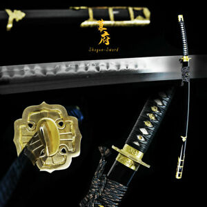Handmade Japanese Katana Tachi Sword Clay Tempered Folded Shihozume sharp Blade