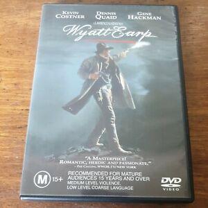 Wyatt Earp DVD R4 Like New! FREE POST