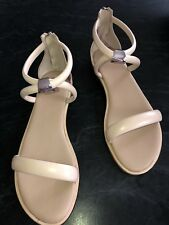 Witchery Size 41 Beige All Leather Sandals. Rrp$140